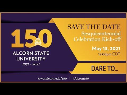 Alcorn President Announces its 150th Celebration