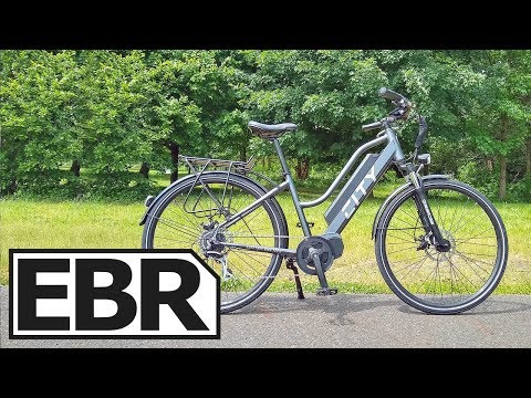 Electric Bike Technologies Electric City Bike Review - $3.3k Mid-Drive, Throttle, Lights, Fenders