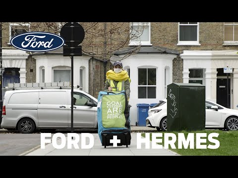 Ford and Hermes Pilot Pedestrian Couriers to Deliver Faster, More Sustainable Online Shopping
