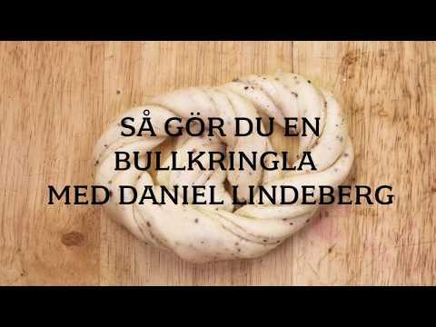 Så gör du en bullkringla med bagaren Daniel Lindeberg