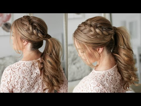 HOW TO: Braided Ponytail   Missy Sue