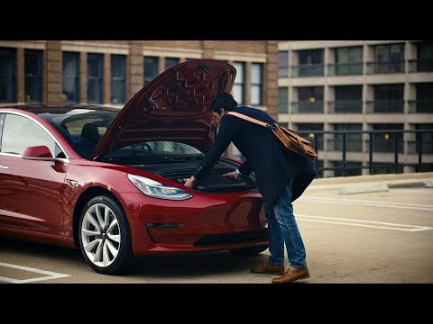 Model 3 Guide | Front Trunk