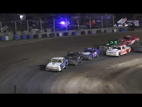 Street Stock B-Feature #1 at Crystal Motor Speedway, Michigan on 07-03-2021!! - dirt track racing video image