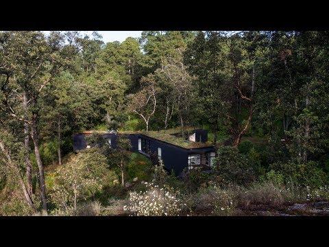 Cadaval & Sola?-Morales nestles Casa de la Roca into Mexican woodland