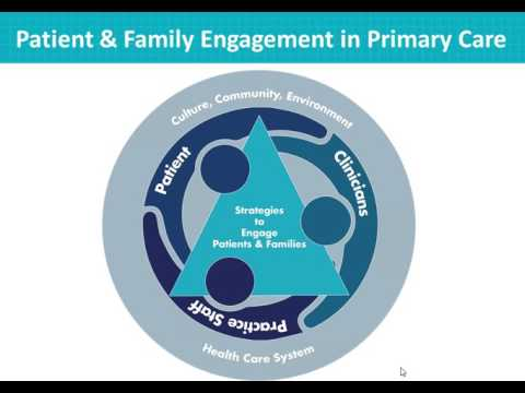 Lunch n' Learn - Improve Patient Safety in Primary Care Settings by Engaging Patients & Families