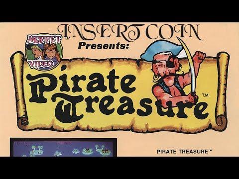 Pirate Treasure (1982) - Arcade - 4 loops
