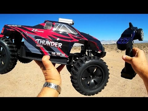 ZD Racing Brushless Upgraded 9106S ZMT-10 Thunder 1/10 4WD RC Car Test Drive Review - UC90A4JdsSoFm1Okfu0DHTuQ