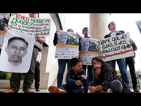 Seeking justice for 43 missing Mexican students