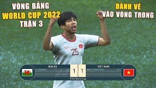 PES 19 | FIFA WORLD CUP 2022 | VÒNG BẢNG TRẬN 3 | WALES vs VIET NAM - Giấc mơ Bóng Đá VIỆT NAM