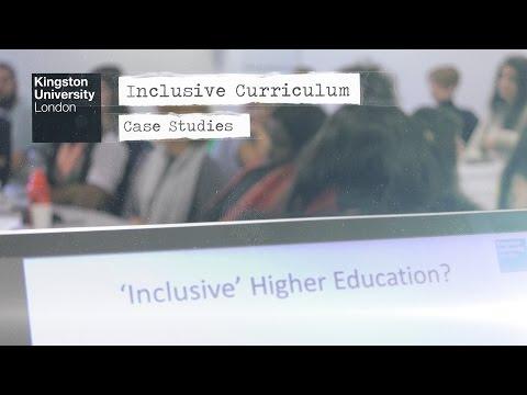 Kingston University - Inclusive Curriculum Case Studies