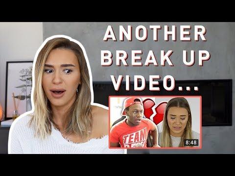 REACTING TO DEJI'S ROAST VIDEO ABOUT MY BREAK UP!