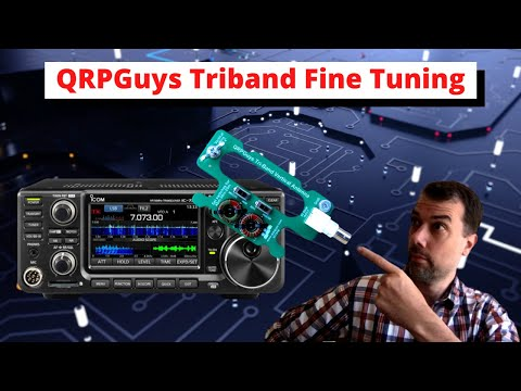 #96 Youtuber's Bunch QRPGuys Triband Build Results and Tuning