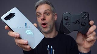 vidéo test Asus ROG Phone 5 par Monsieur GRrr
