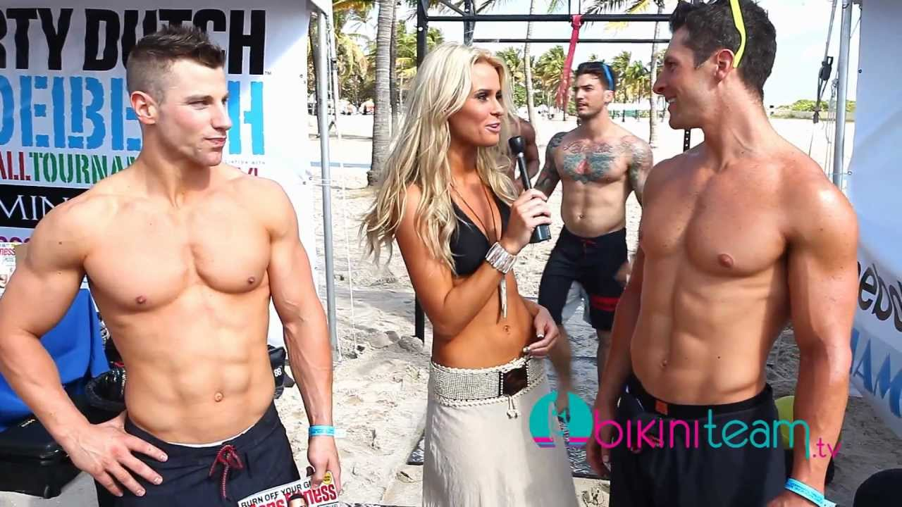Tyler Suess Cross Trained by Men's Fitness Magazine Models at Reebok CrossFit Miami Beach