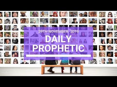 Daily Prophetic 29 November Word 4