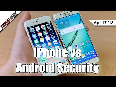 iPhone vs GrayKey, and Android's Meager Security - ThreatWire