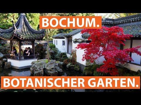 Der Chinesische Garten und der Botanische Garten in Bochum