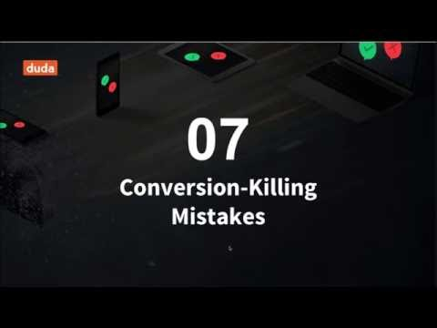 Duda & 99 designs - 7 Coversion-Killing Mistakes Designers Need to Avoid - Webinar Replay