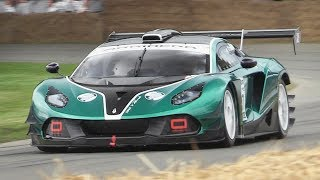 Arrinera Hussarya GT3 Sound In Action at Goodwood FOS 2017!
