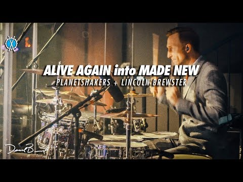 Alive Again into Made New Drum Cover // Planetshakers + Lincoln Brewster // Daniel Bernard