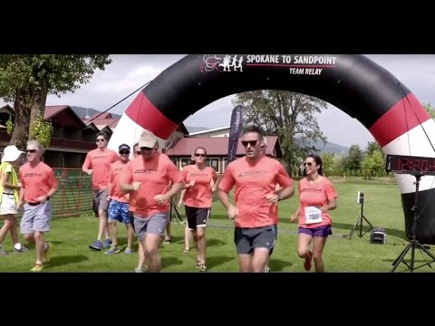 BNSF runners compete in 200-mile Spokane to Sandpoint Relay