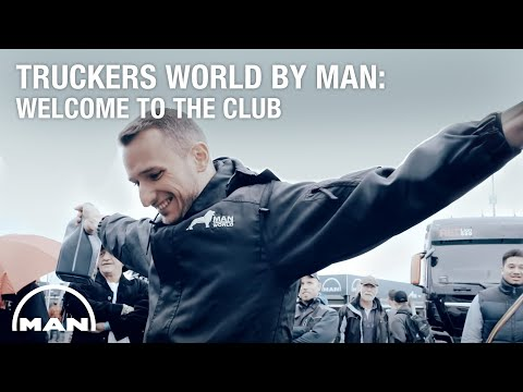 Truckers World by MAN: Welcome to the club