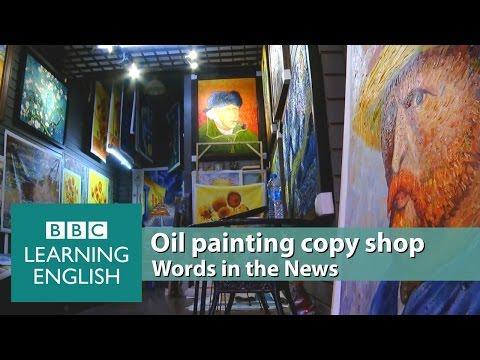 Oil painting copy shop. Learn: masterpieces, mass-produced, replicas, revenue, original