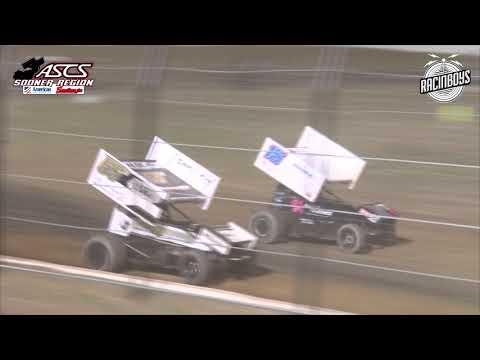 ASCS Sooner Highlights at Tulsa Speedway 6 18 21 - dirt track racing video image