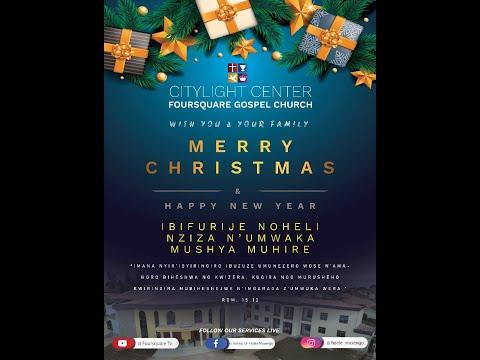 ''Christmas Celebration''  2nd  Service With Bishop Dr. FIDELE MASENGO 25.12.2020