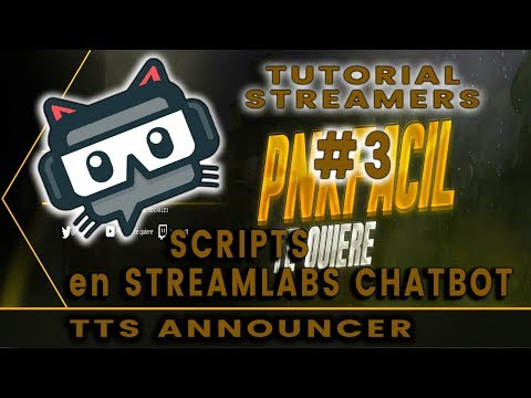 Tutorial Streamer - #3 Ankhbot Streamlabs Chatbot - Scripts