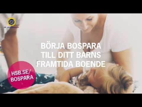 HSB BOSPAR - Det går fort från barnvagnen till egen lägenhet