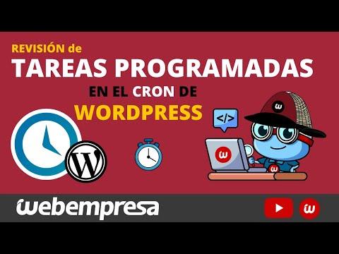 💪 Aprende TODO sobre la revisión de tareas programadas en el Cron de WordPress - Plugin WP Crontrol