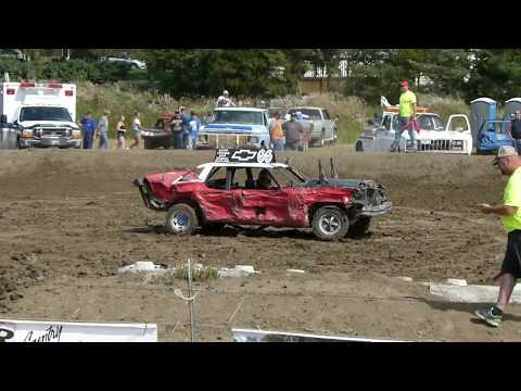 Winner Demolition Derby 2018 Limited Weld Heat 3