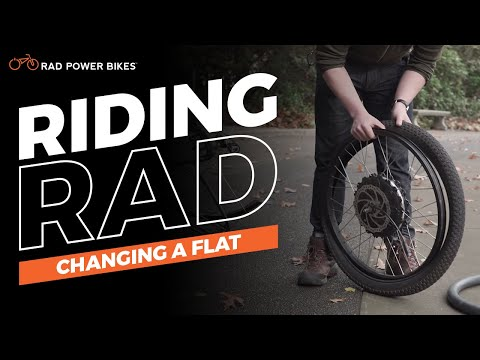 Changing a Flat | Riding Rad
