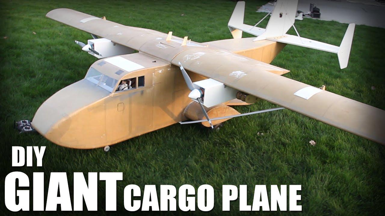 Flite Test | DIY Giant Cargo Plane | mdp lt