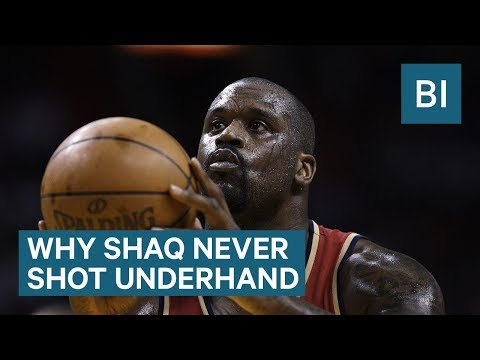 Why Shaq Never Tried The Underhand Free Throw - UCcyq283he07B7_KUX07mmtA