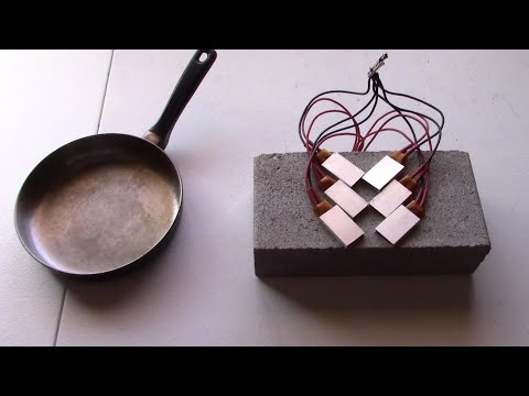 How to make a 12V Stove Burner! - Super Easy! - Heats Up Fast!  (solar panel or battery powered) DIY