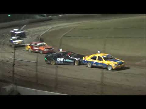 RSA Street Stocks Feature Race at Castrol Edge Lismore Speedway. 19.01.19 - dirt track racing video image