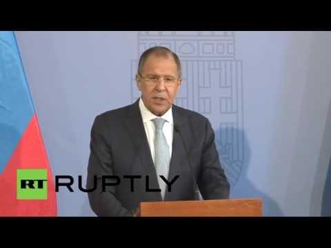 Пресс-конференция Сергея Лаврова по итогам визита в Венгрию