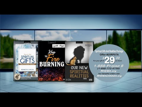 Spiritual Gifts and Realities Package (As seen on RHEMA Praise)