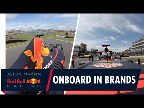 Onboard in Brands Hatch   David Coulthard goes for a lap in the RB7