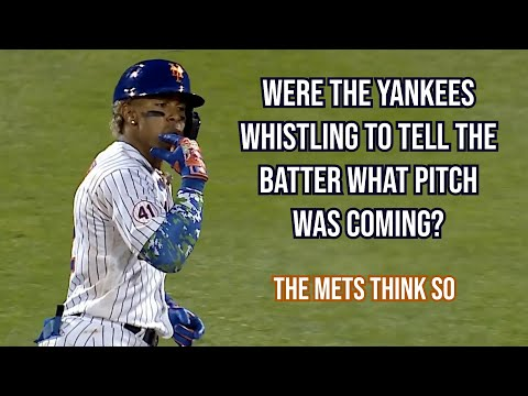 The Mets got mad at the Yankees for whistling, a breakdown