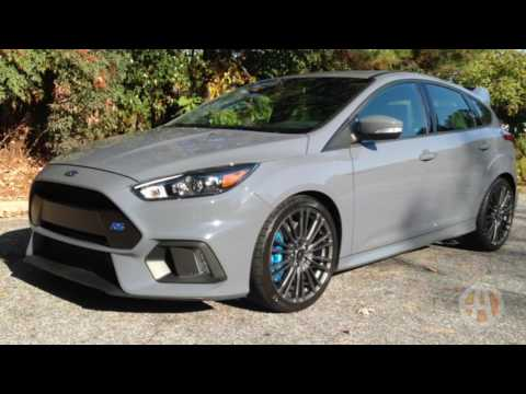 2017 Ford Focus RS: American Hustle - Video