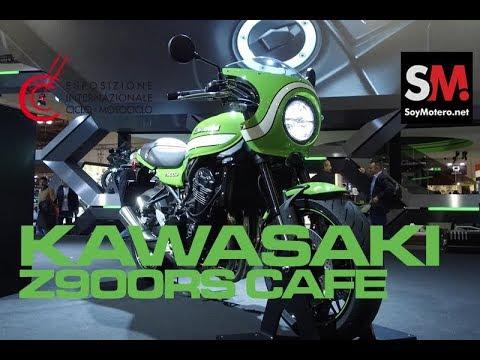 Kawasaki Z900RS CAFE 2018 / EICMA 2017 [FULLHD]