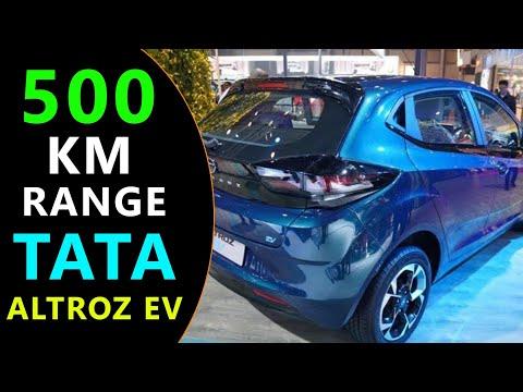 Tata Altroz EV - 500 KM Range Electric Car in India 2022