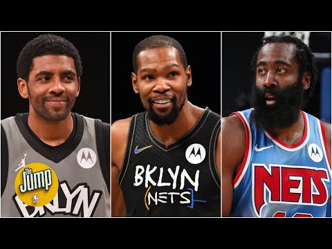 The Jump reacts to KD, Kyrie & Harden expecting to play Saturday vs. Bulls  | The Jump