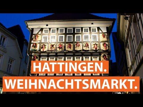 Der nostalgische Weihnachtsmarkt in Hattingen