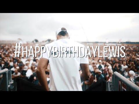 33 Years Young... Happy Birthday Lewis Hamilton!