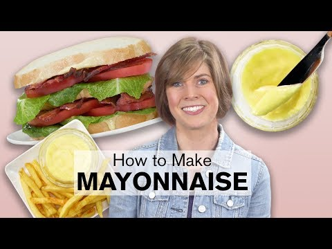 Homemade Mayonnaise is Easy to Make | Dish with Julia | Allrecipes.com