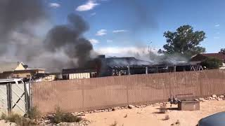 Crews battling house fire on Tucson's south side